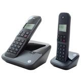 Telefone Sem Fio + 1 Ramal Motorola Moto 3000-mrd2, Dect 6.0