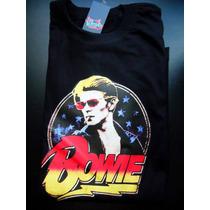 Remeras David Bowie Estampada Rock Pop Rebel Stardust Musica