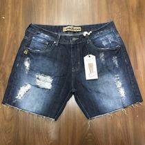 Bermuda Jeans Boyfriend Feminina Marca Famosa Original