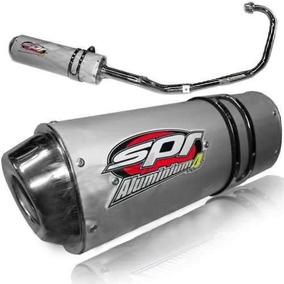 Escape Spr Aluminium 4 Yamaha Ybr 125 Honda Cg Titan 150 Fas