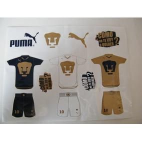 Estampillas Coleccionables Pqt Pumas Aniversario 2010