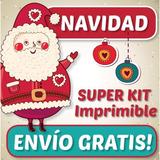Patrones De Navidad Imprimibles Foami Lenceria Muñecos