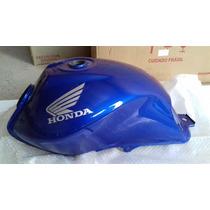 Honda Fan 150 2010 A 2012 - Tanque De Combustível Azul