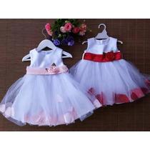 Vestidos De Niñas Bautizo,fiesta Pajecita Ocasion Especial