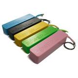 Cargador Portatil Usb Bateria Extra Para Celus De 2600 Ma