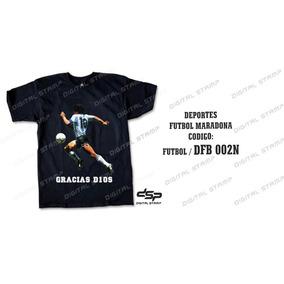Remeras Futbol Maradona 2 Estampado Digital. Miralas!