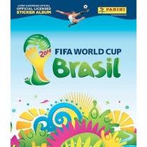 Álbum Da Copa Do Mundo 2014 De Capa Dura Completo!
