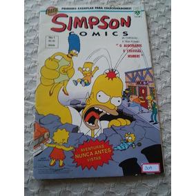 Simpson Comics Nº1, 1º Exemplar Para Colecionadores 1996 (a2