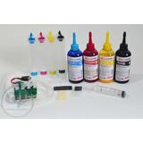 Bulk Ink C79 C92 Cx5900 Cx5600 + 400ml De Tinta Sublimatica