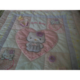 Edredon Para Cuna Importado Hello Kitty