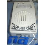 Campanilla De Teléfono Externo Ring Fuerte Y Luz