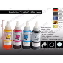 Kit C/ 4 Cores Tinta Pigmentada Epson 100ml - Nao Entope