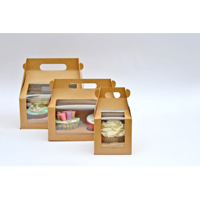 Cajas Cupcakes Panques Muffins Cavidades Lonchera Boxlunch