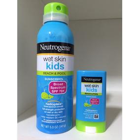 Protetor Solar Neutrogena Kids Spray Mais Bastao Fps70