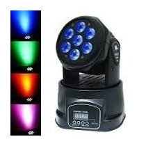 Cabezal Movil (4 En 1) 7 Leds 8w. Rgbw Washlite-x708