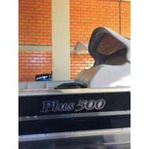 Lancha De Aluminio Plus 500 Com Motor 15 Hp Mercury Novo