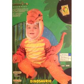 Disfraz Bebe Dinosaurio 6/12 Meses Y 12/18 Meses