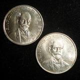 Moneda 25 Centavos 1966 Pico Abierto Variedad Escasa