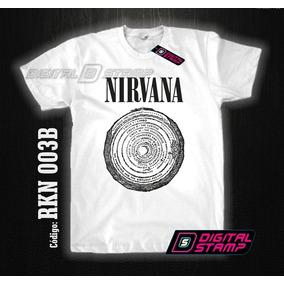 Remeras Nirvana Kurt Cobain 3 Estampado Digital Stamp Dtg