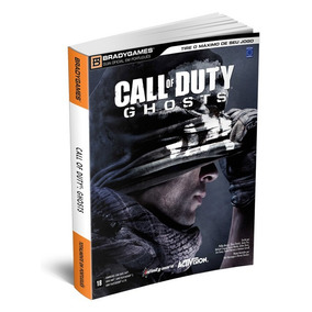 Livro Guia Oficial Call Of Duty Ghosts Portugues Frete 17,00