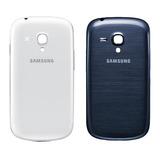 Tapa Trasera Batería Samsung Galaxy S3 Mini Azul Y Blanco
