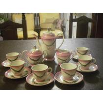 Juego De Cafe Porcelana Japonesa Antiguo