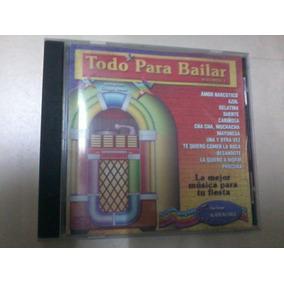 Cd Todo Para Bailar Vol 1 Compilado Karaoke Amor Narcotico
