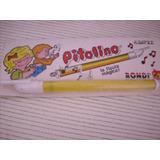 Antiguo Juguete Pitolino La Flauta Magica