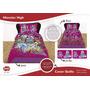 Cubrecama Cover Quilt Monster High 1½ Pl Disney Piñata + Fun