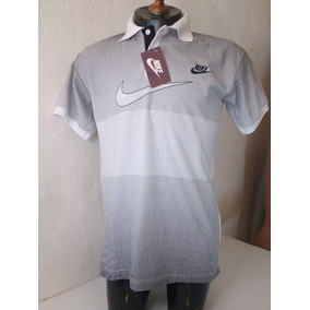 Camisa Playera Tipo Polo Nike Blanco Hombre Ropa Casual Moda