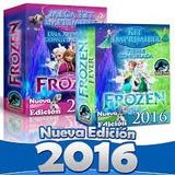 2 X 1 Mega Kit Imprimible Frozen Invitaciones Candy Calendar