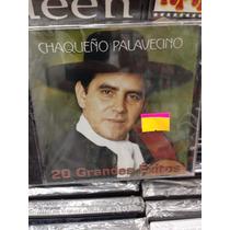 El Chaqueño Palavecino - 20 Grandes Éxitos - Cd Nuevo+otro D