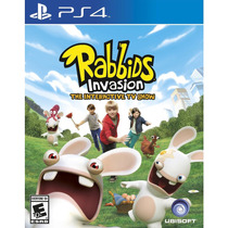 Rabbids Invasion Show Interativo Da Tv Para Ps4 Mídia Física