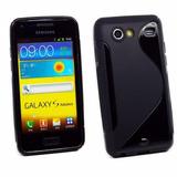 Capa Tpu S-type + Película Galaxy S2 Sii Lite I9070