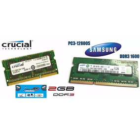 Memoria Ram Ddr3 2gb Laptop 1600mhz Compatible 1333mhz