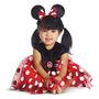 Disfraz De Minie Mouse Para Niña Talla 12-18 Meses