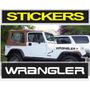 Kit De Calcomanias Para Jeep Wrangler + Sticker De Regalo