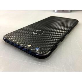 Skin Capa Adesivo Pelicula Fibra De Carbono Iphone 6 6s Plus