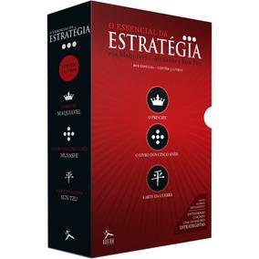 O Essencial Da Estratégia 3 Livros Principe Frete Gratis