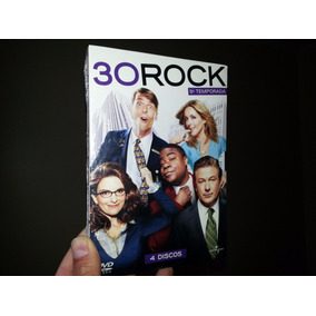 Box 30 Rock - 5ª Temporada 4 Dvds (lacrado E Original)