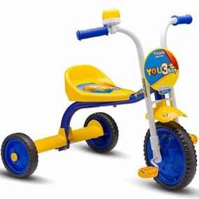 Triciclo Infantil Bicicleta Nathor Aro 5 Menino Bebê Criança