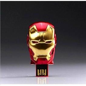 Pen Drive 32gb - Iron Man 3 - Homem De Ferro 3 - Importado