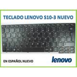 Teclado Netbook Lenovo S10 S10-3 S10 3 Nuevo Español