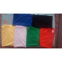 Camiseta Lisa Varias Cores Fio 30.1 100% Algodão Qualidade