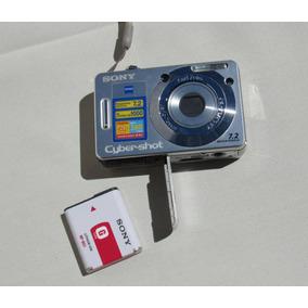 Cámara De Fotos Digital Sony Dscw-55 7.2mp