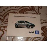Libro Manual Del Usuario Del Peugeot 206