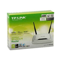 Router Wifi Tp-link Tl-wr841nd 300mbps N 2 Antenas Intercam