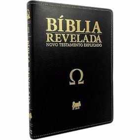 Bíblia Revelada Novo Testamento Dinelson Comentada Luxo