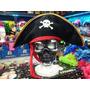 Sombrero Pirata - Modelo Corsario - Tela Tipo Plush