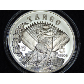 2014 - Moneda Plata - Conmemorativa, Fabulosos 15 Tango
